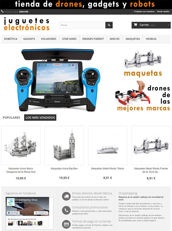 tienda de drones